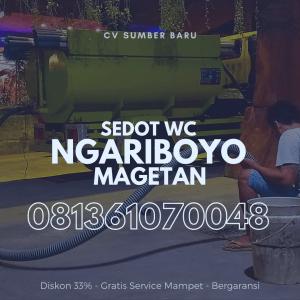 Sedot WC Ngariboyo Magetan